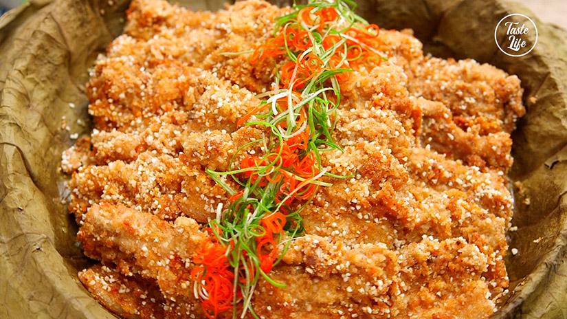 Steamed Pork Belly with Rice Powder