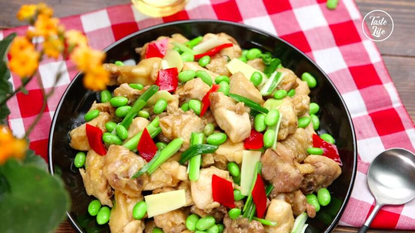 Chicken and Edamame Stir Fry