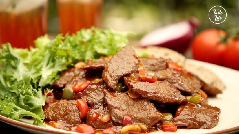 Sizzling Asian Beef Steak
