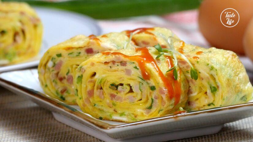 Japanese Omelette (Tamagoyaki)