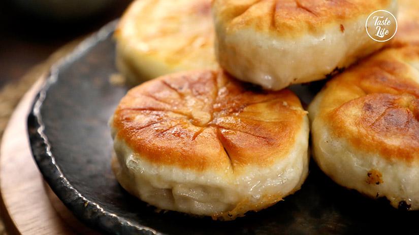 Pan Fried Beef Buns – Chinese Meat Pie (Xian Bing)