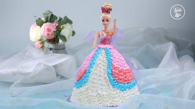 Barbie Birthday Cake Decoration Taste Show