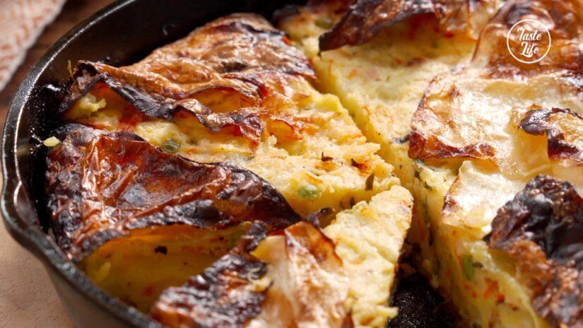 Cabbage Potato Pie