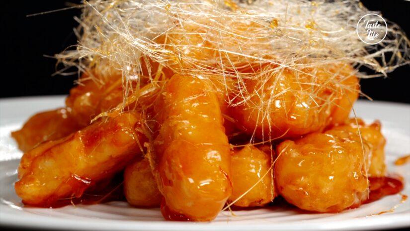 Caramelized Fried Milk