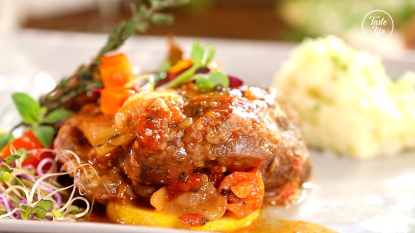 Beef Osso Buco With Mashed Potato