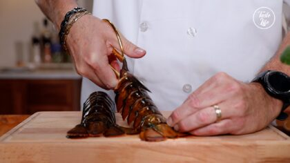 [ Butterfly Lobster Tails] Step 1