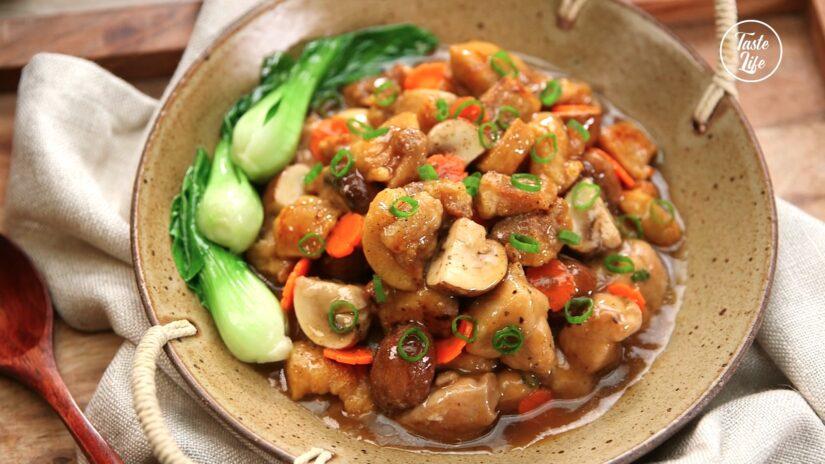 Oyster Sauce Chicken Stew