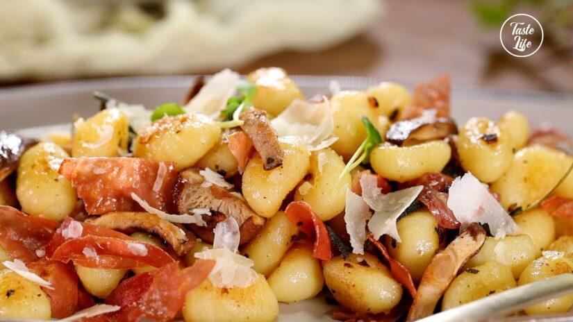 Potato Gnocchi With Crispy Prosciutto and Sage