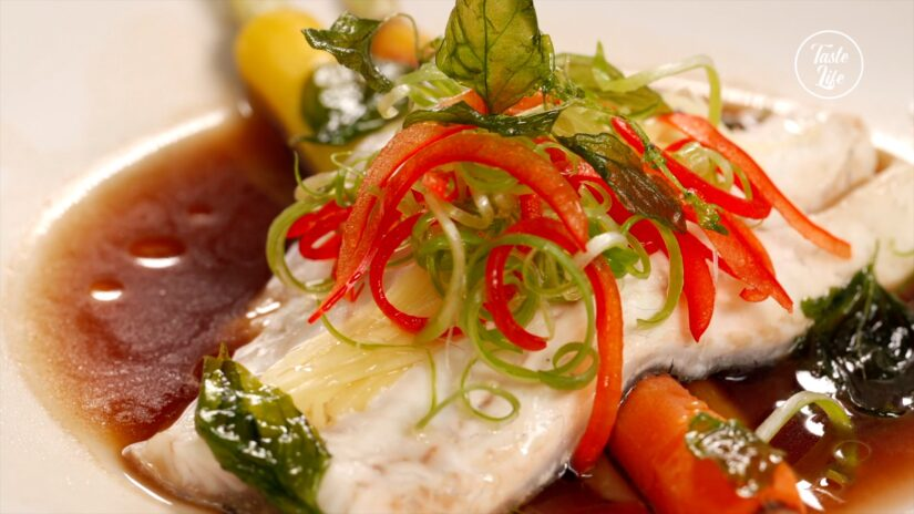Chinese-Style Steamed Fish Fillet