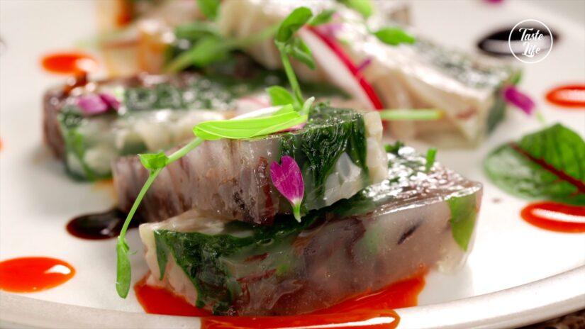 Chinese Pork Rind Jelly