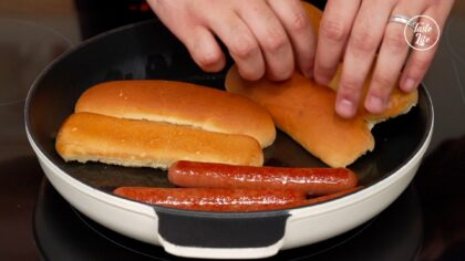 Step 3 [Hot Dogs]