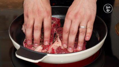 Step 3 [Steak]