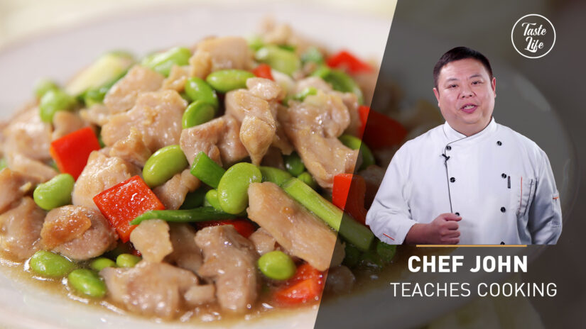 Chef John's Cooking Class | Chicken Stir-Fry with Edamame