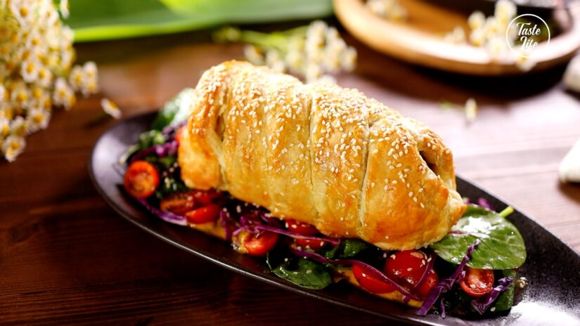 Polpettone in Crosta – Meatloaf in Puff Pastry Crust
