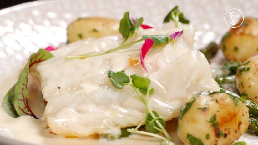 Cod With Cream Sauce