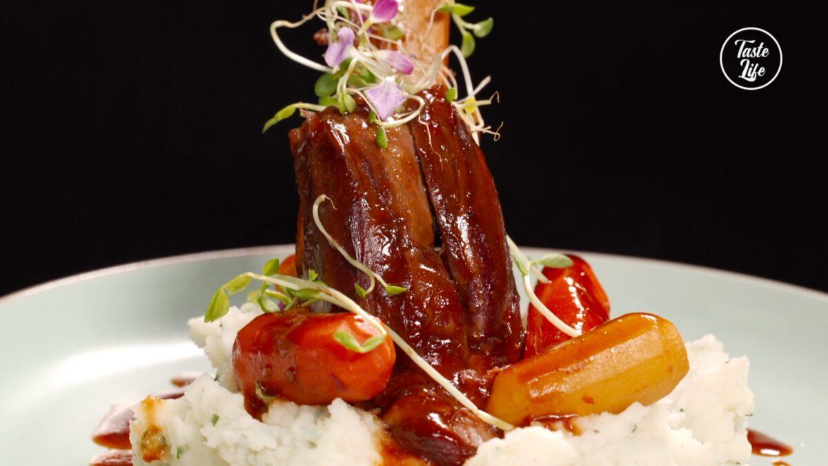 Braised Lamb Shank With Mashed Potato - Taste Show
