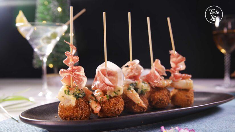 Shrimp Croquettes (Croquetas de Camarones)