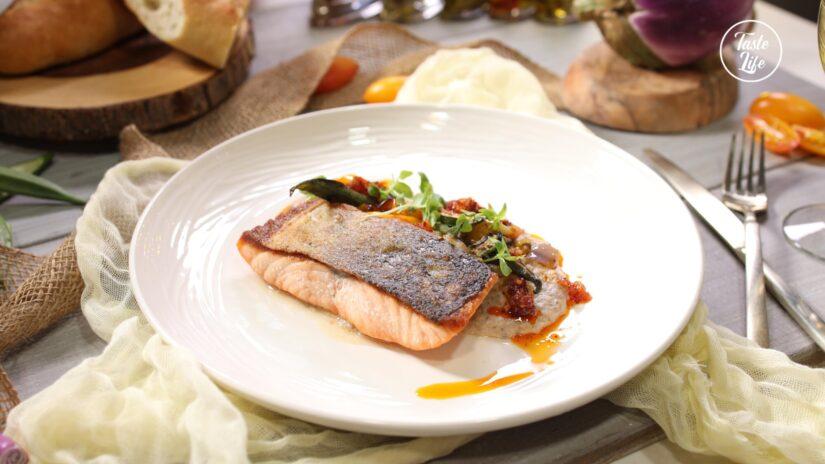 Pan Roasted Pacific Salmon