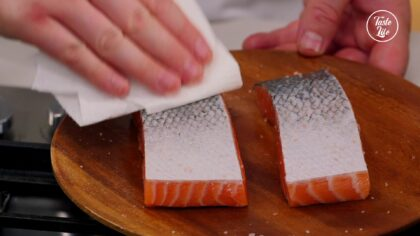 Step 12【For The Salmon】