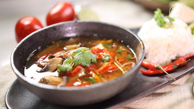 Spicy Thai Tum Yum Goong