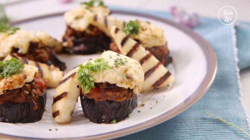 Roasted Eggplant Gratin