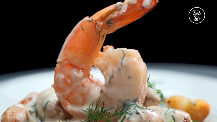 One Pot Pasta-Shrimp Gnocchi