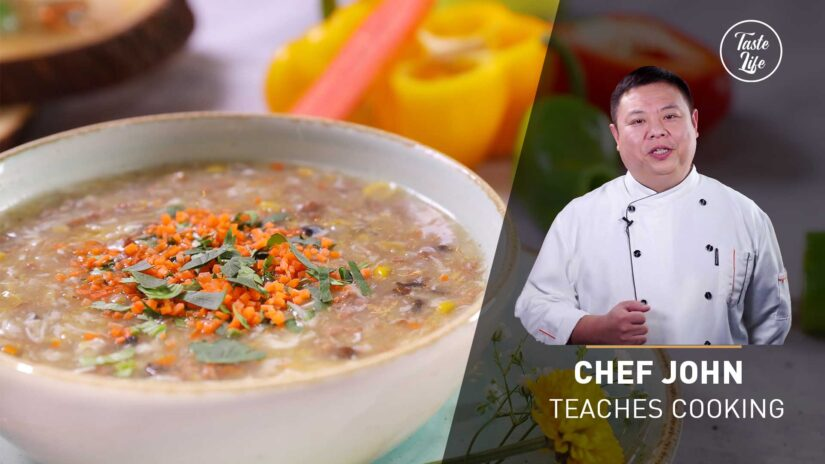 Vegetable Beef Soup | Chef John's Cooking Class