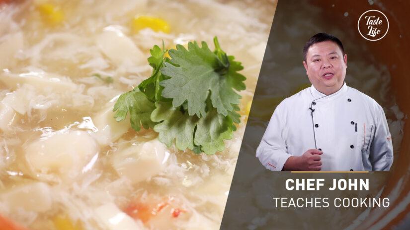 Chef John's Cooking Class | Shrimp Corn Tofu Soup