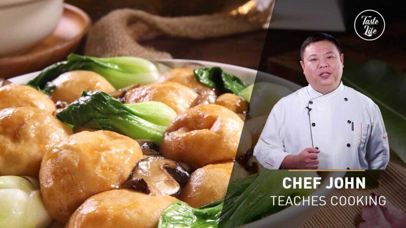 Chef John's Cooking Class | Stir-Fry Gluten Balls With Mushrooms