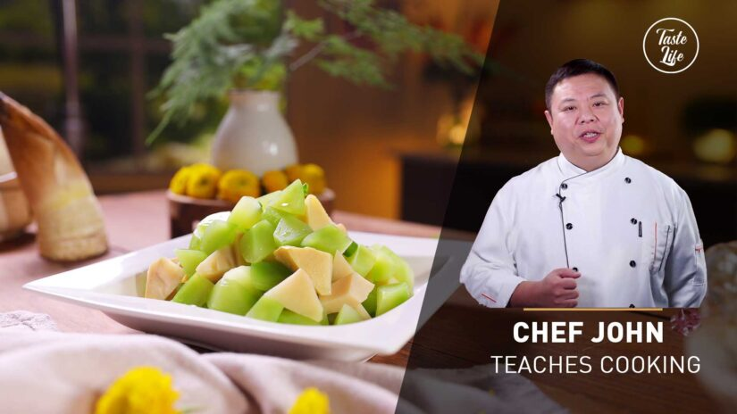 Chef John's Cooking Class | Chinese Style Celtuce Salad