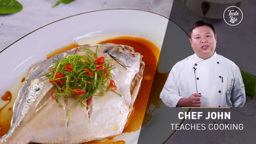 Steamed Pomfret | Chef John's Cooking Class
