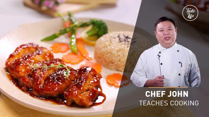 Teriyaki Chicken Thighs   Chef John's Cooking Class
