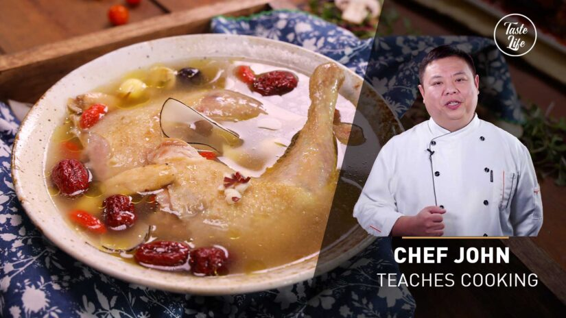 Chinese Style Steamed Chicken Soup | Chef John's Cooking Class