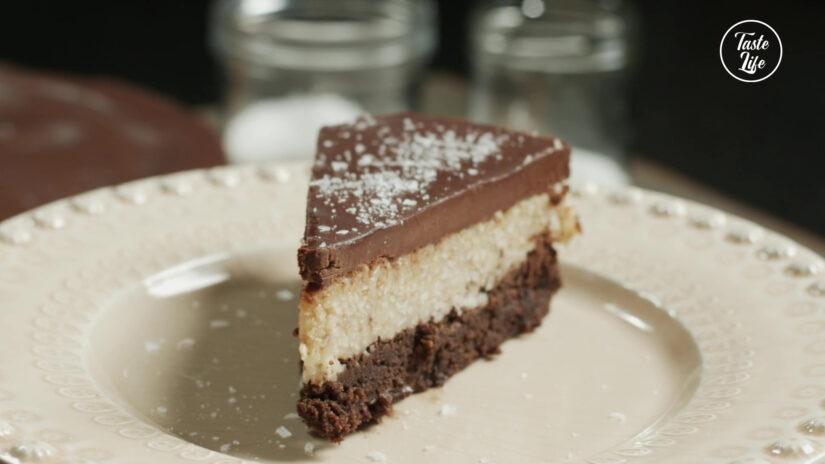 Chocolate & Coconut Cake