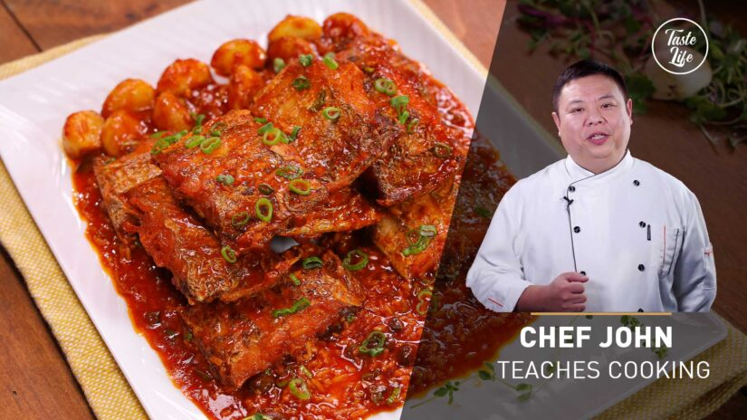 Stir Fried Belt Fish With Spicy Sauce   Chef John's Cooking Class