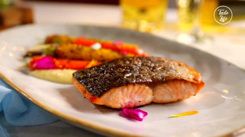 Pan Seared Icelandic Salmon